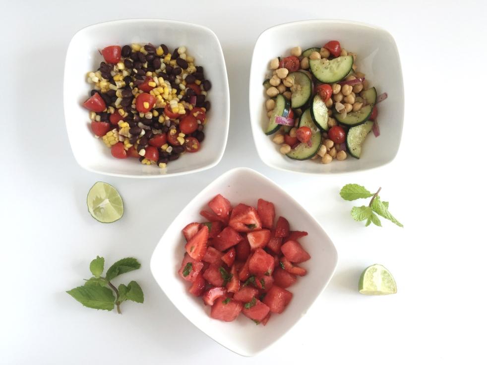 3 Summer Salad Recipes